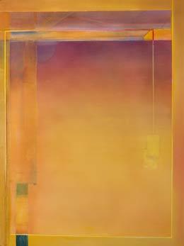 minimal Geometric artwork calming watercolour paintings