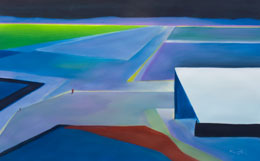 abstract aviation painting – no traffic