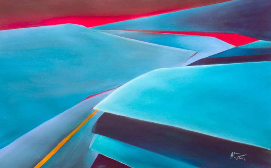 abstract aviation paintings climb outOut contemporary abstract painting