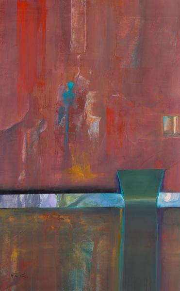 genuine original abstract painting