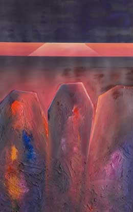 world war one painting – menin road