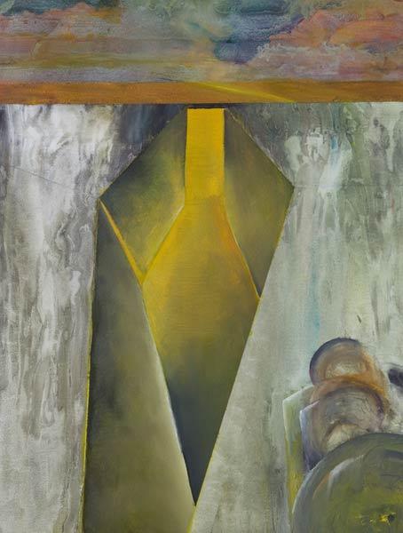 WW1 art Trench Refuge