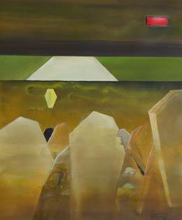 first world war art menin road III