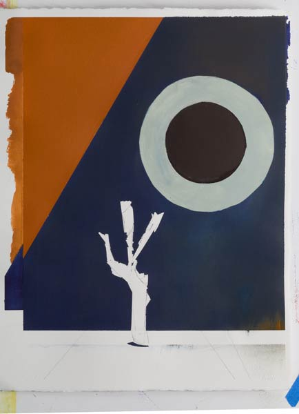 First world War Paintings - Danger Tree