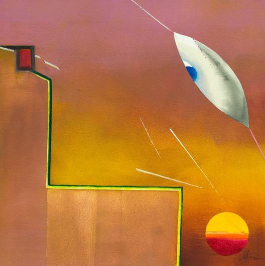 modern surreal paintings - inevitability