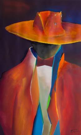 abstract Spanish figure paintings – Senor!