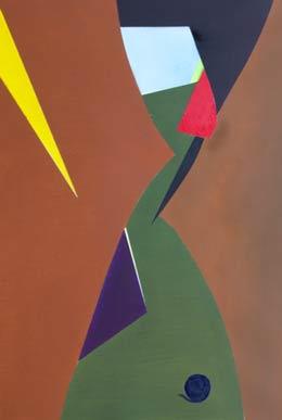 hard edged geometric abstractart – Pinball