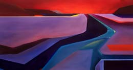 imaginative art – desert interstate junction