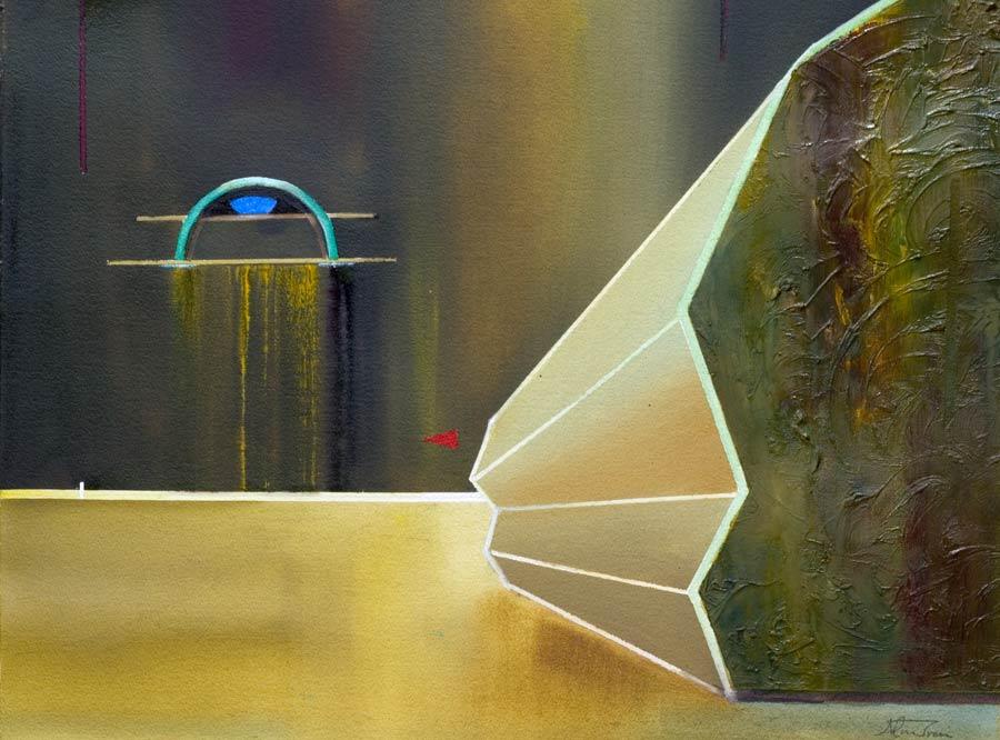 spiritual painting crypt