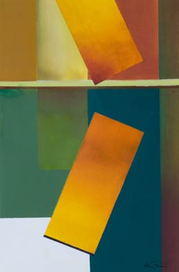 yellow abstract paintings – Tumble