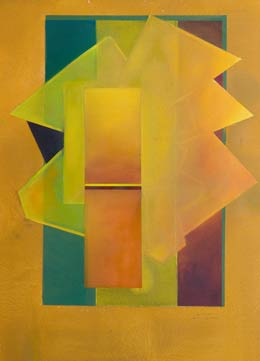 shades of yellow painting - coming out