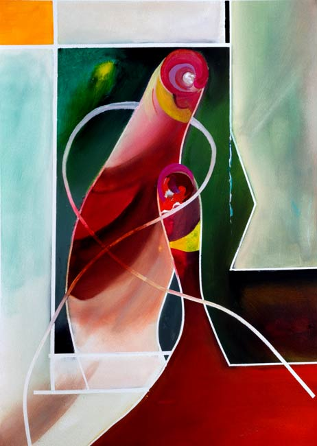 alan brain art bonded abstracted-figures-Fun-Guys