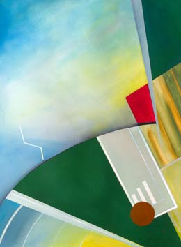 original art Aerobatics - paintings that capture the feeling of flying