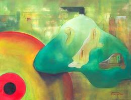 global warming paintings – self destruction