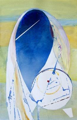 simple beautiful shape painting – the Hijab
