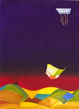 new paintings by alan brain original Spring!