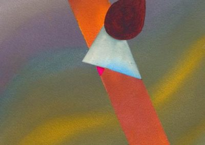 unusual surreal painting inspired by aviation - sun spots