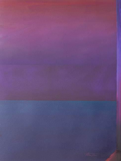 minimal abstract art that creates calmness - oneness