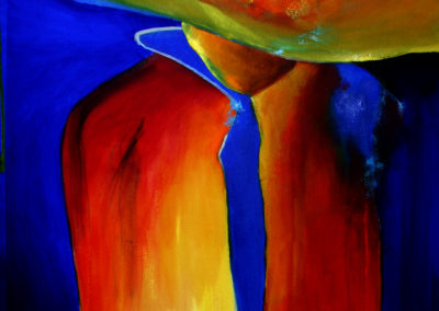 abstract figure painting