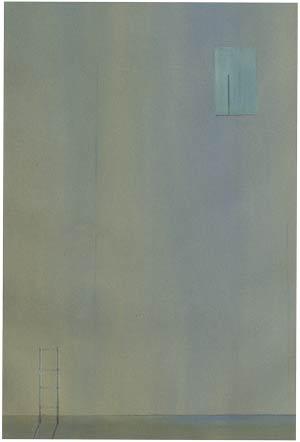 surreal minimal painting