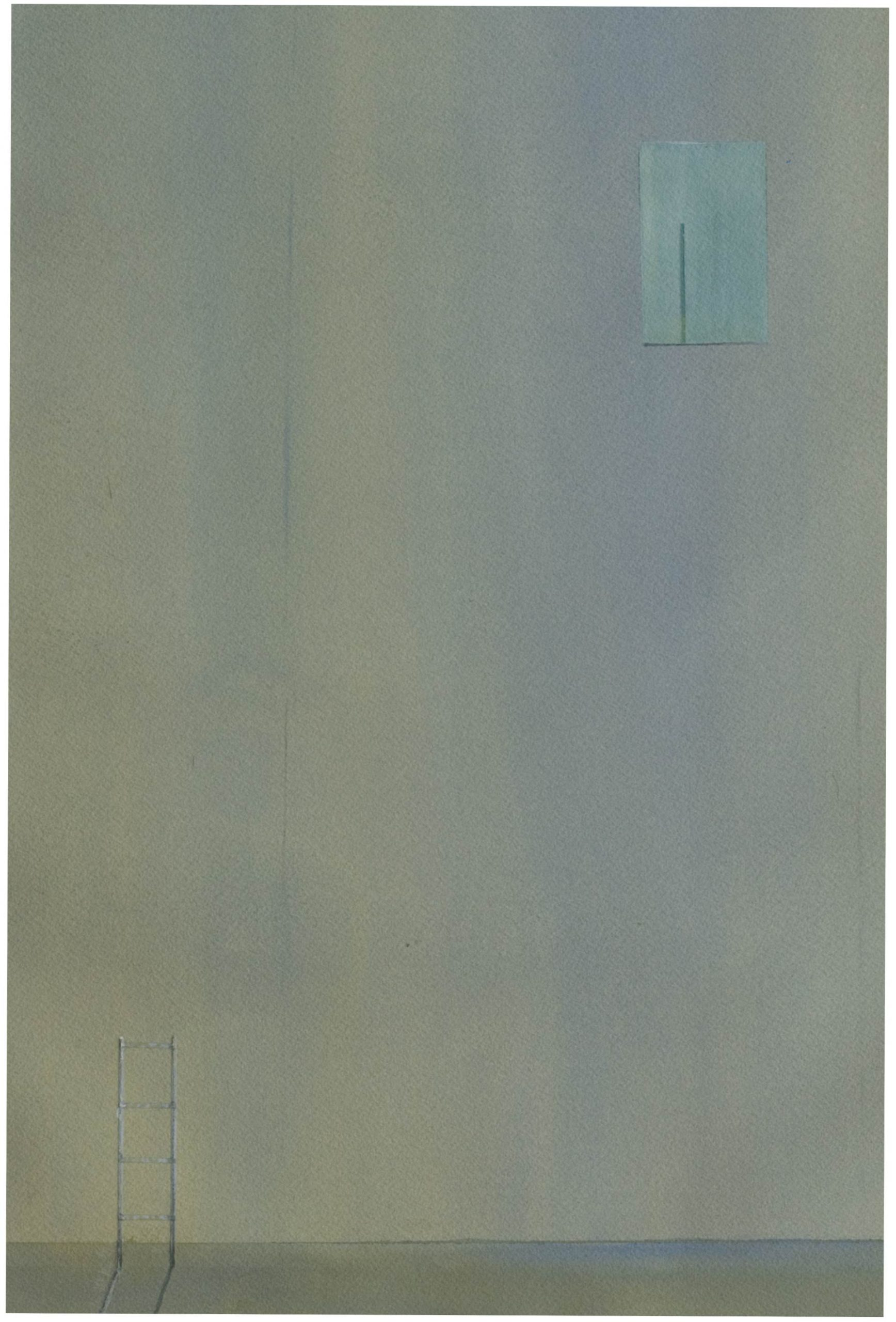 surreal minimal painting - out of reach